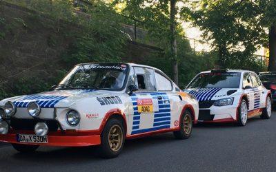 AvD Sachsen Rallye als VIP-Taxi