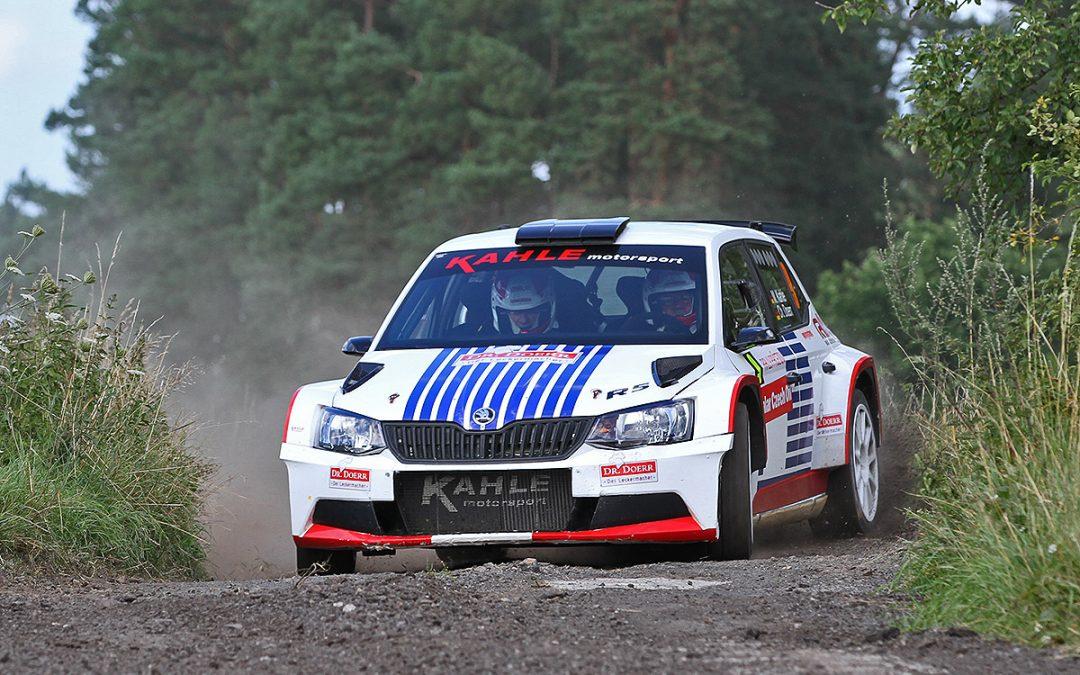 Rallye Pacejov 2017: Leistung gut, Praxis fehlt