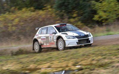Lausitz-Rallye: Doppeltes Jubiläum für Kahle/Doerr