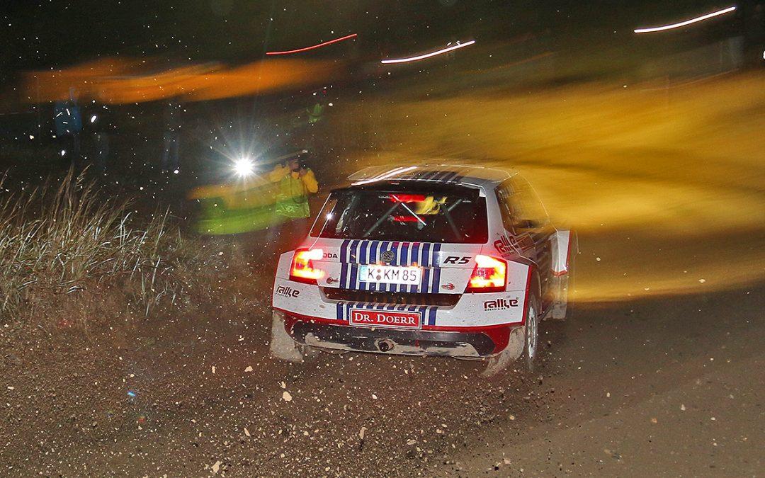 Lausitz-Rallye: Kahle/Doerr beenden Schotter-Krimi auf Platz zwei