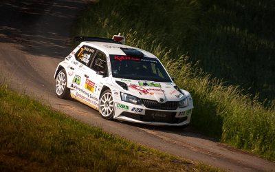 Sachsen-Rallye: Wiegand fährt im Kahle-Škoda aufs Podest